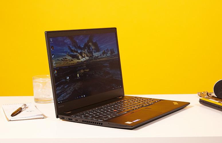 Thinkpad T570 với thiết kế đơn giản, sang trọng