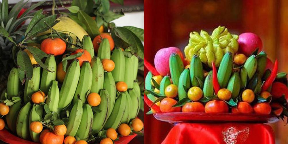 Trưng bày phải thật cẩn thận, tránh dập, tránh trầy xước hoa quả