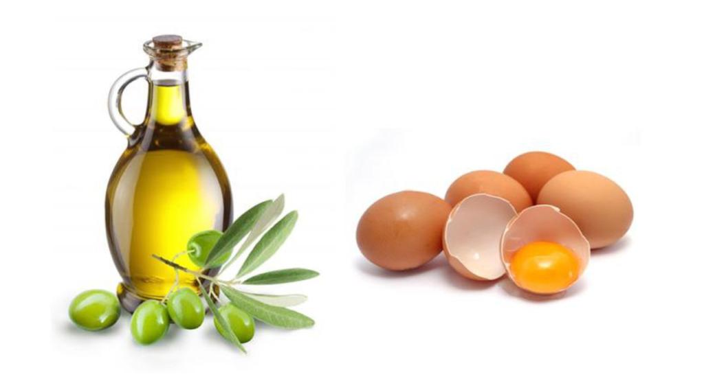 Tóc dài và dày nhờ dưỡng bằng trứng và dầu ô liu