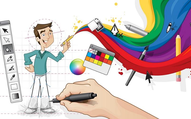 Công việc thiết kế Web đòi hỏi bạn phải có tư duy sáng tạo.