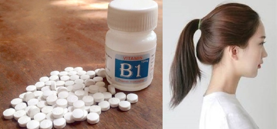 Vitamin B1 giúp tóc mọc nhanh dài và trị rụng tóc hiệu quả