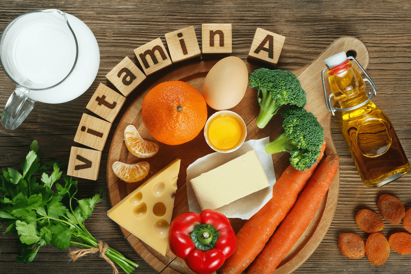 Các thực phẩm chứa nhiều vitamin A luôn có cần tây