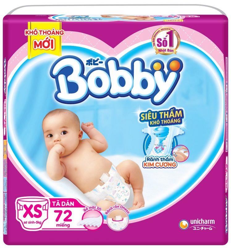 Bỉm Bobby - bỉm cho bé được nhiều mẹ tin dùng