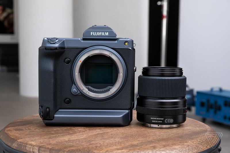 Máy ảnh Fujifilm GFX100