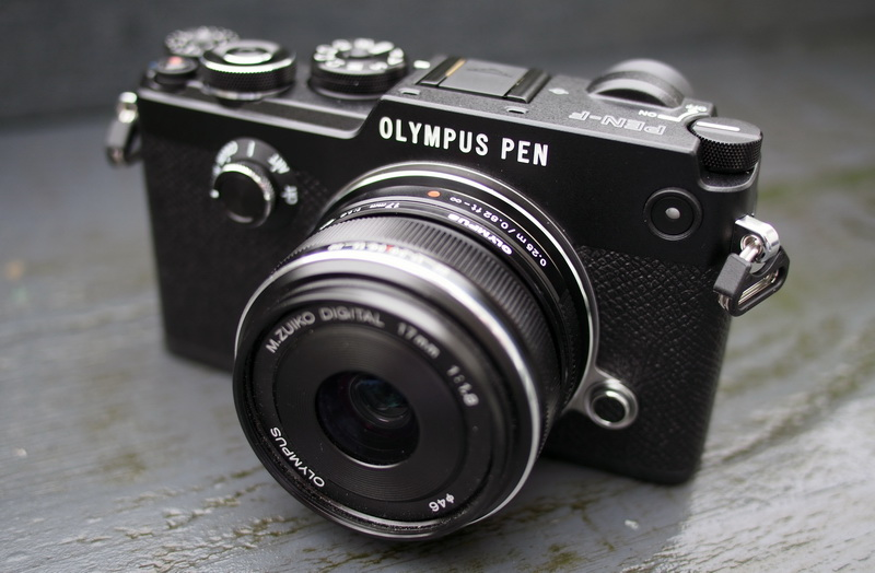 Máy ảnh Olympus PEN F đen