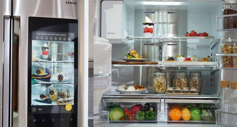 Tủ lạnh gia đình Samsung Hub 4 cửa