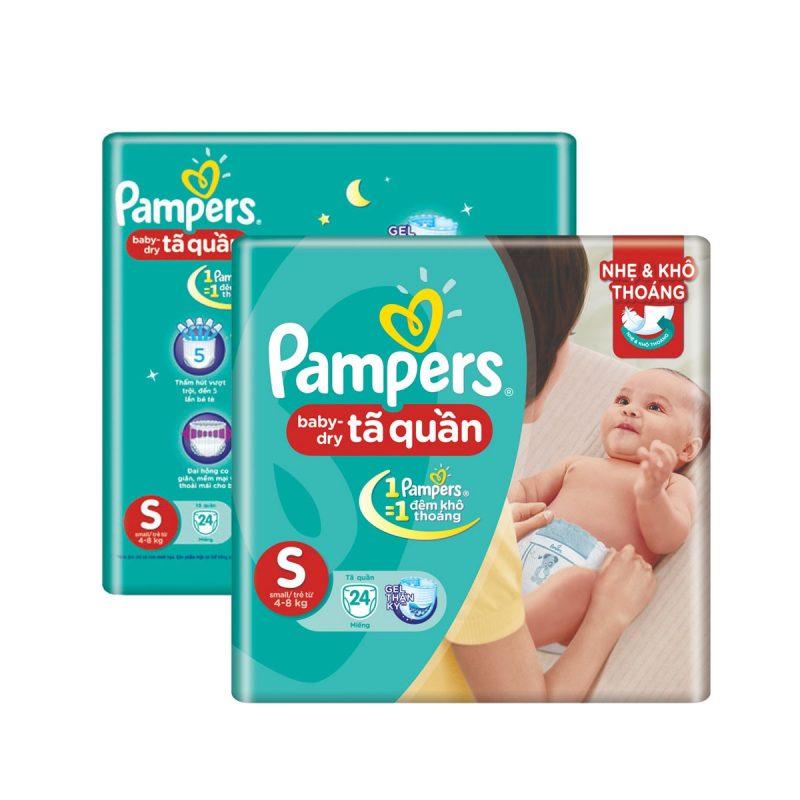 Bỉm Pampers giúp bé thoải mái trong từng cử chỉ