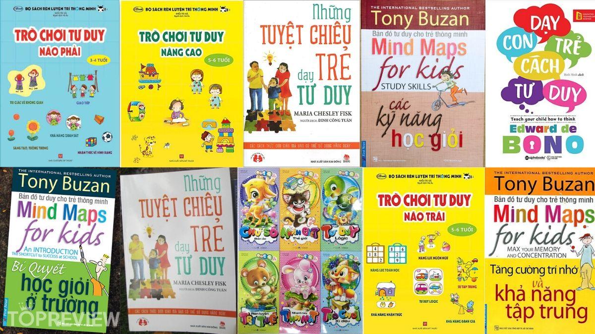 Top 10 cuốn sách ba mẹ nên mua cho con đọc