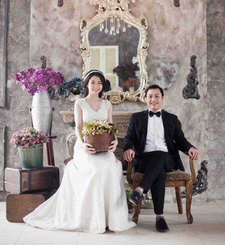 Phong cách chụp ảnh cưới kiểu Hàn Quốc