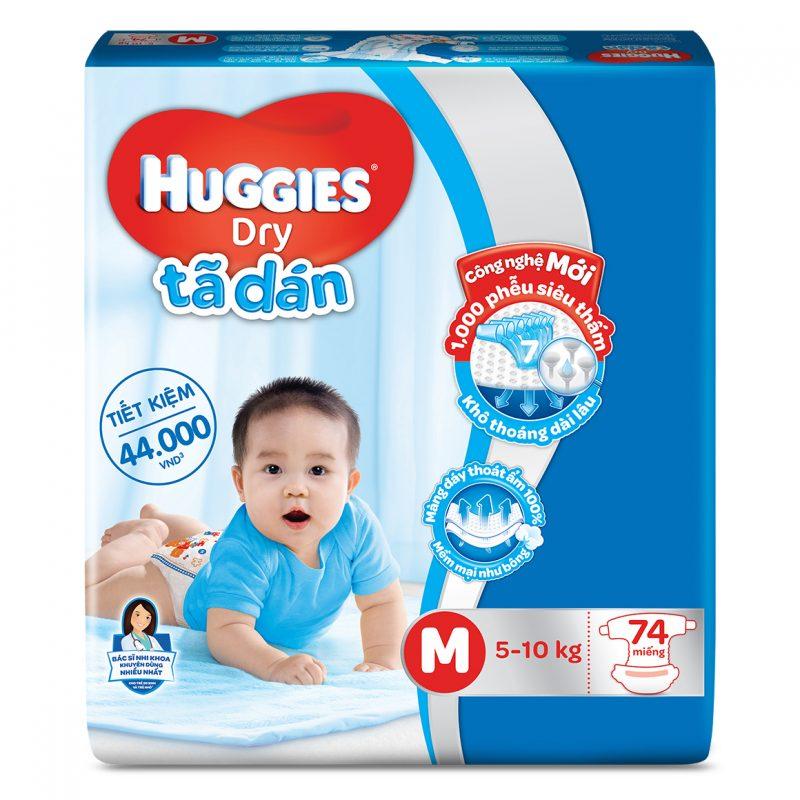 Huggies là bỉm cho bé duy nhất được chứng nhận y khoa giúp ngăn ngừa hăm tã