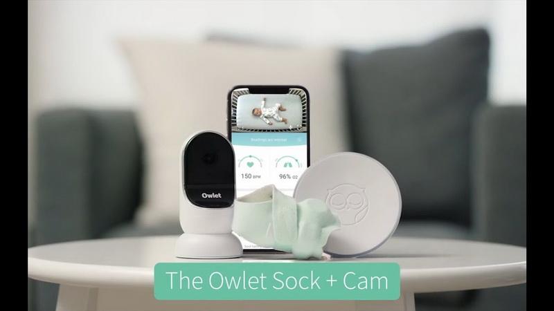 Máy theo dõi nhịp tim Owlet Smart Sock