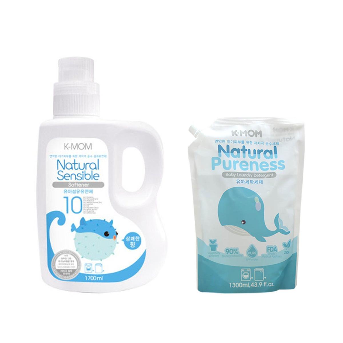 Nước giặt hữu cơ K-mom an toàn cho trẻ sơ sinh