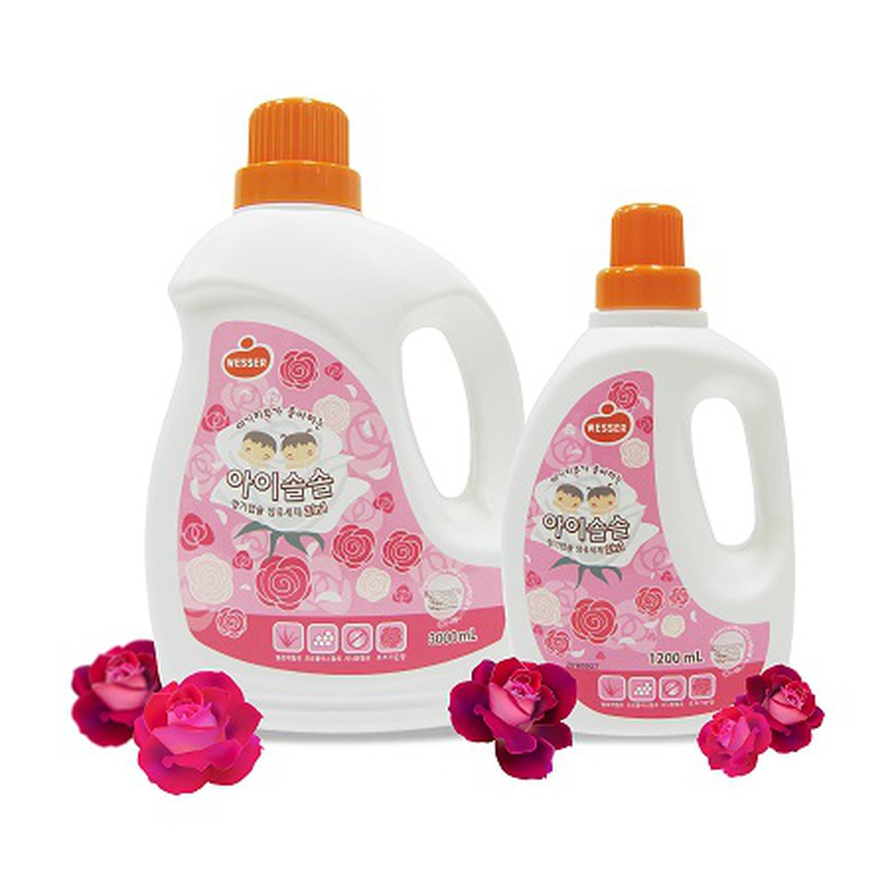 Nước giặt xả Wesser 2in1 hương RoseGarden