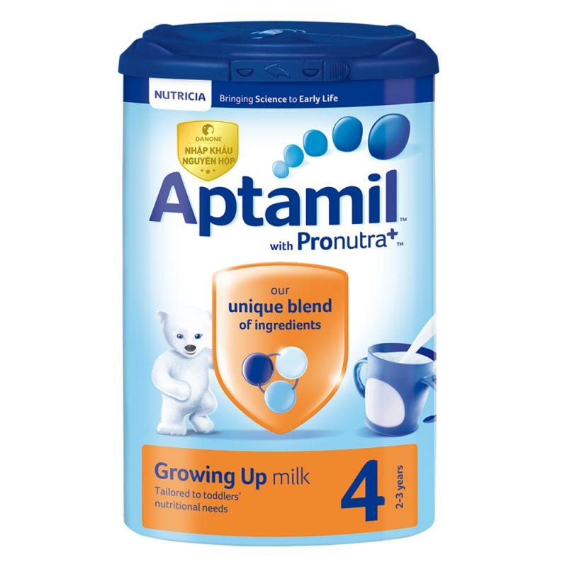 Sữa Aptamil 1 Pronutra giúp bé hay ăn chóng lớn, phát triển khỏe mạnh