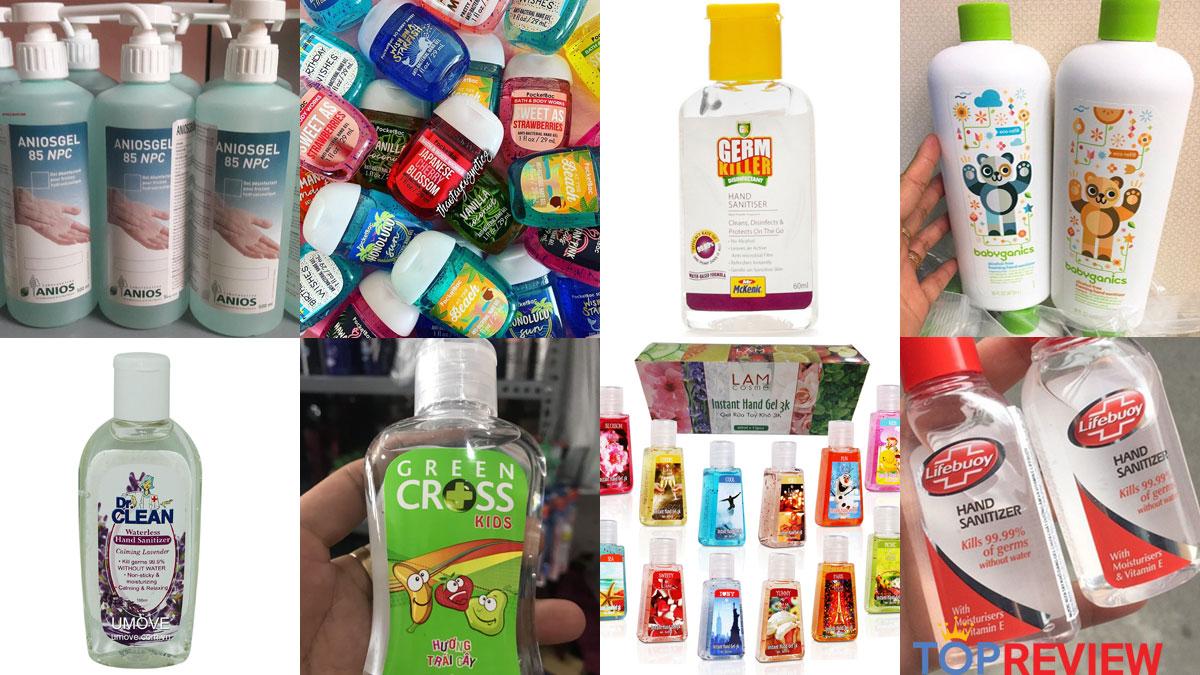 """Top 8 nước rửa tay """"thần thánh"""" giúp bạn """"đánh bại"""" siêu vi khuẩn trong mùa dịch Corona ⋆ TopReview.vn"""