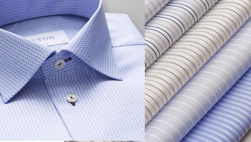 Vải kate kẻ caro thường dùng để may áo sơ mi nam