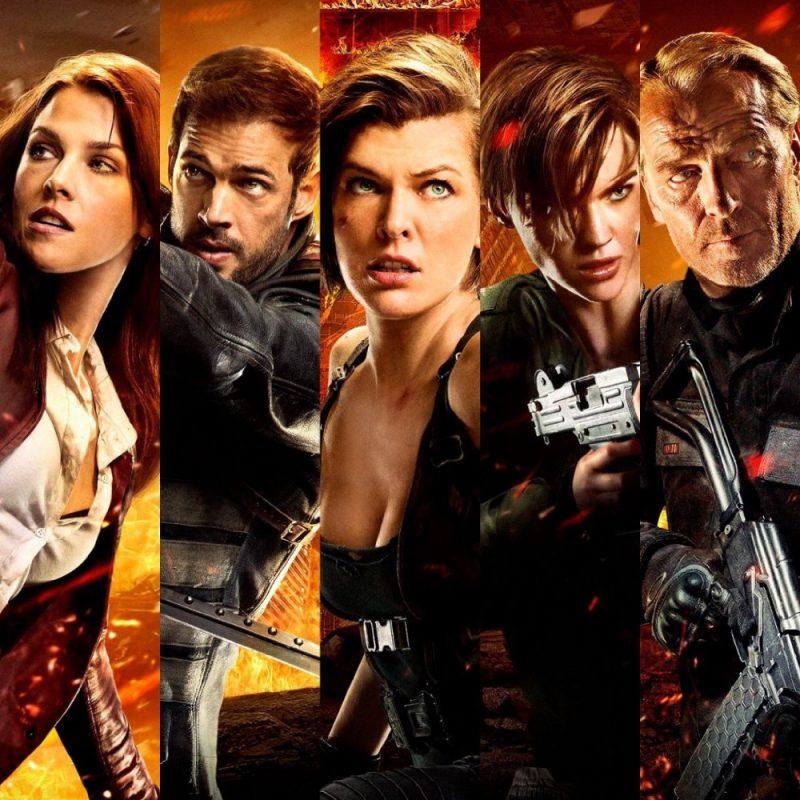 Resident Evil - phim chiến đấu chống zombie