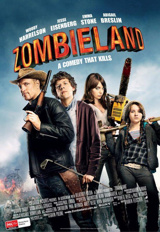 Zombieland khai thác đề tài zombie mới lạ