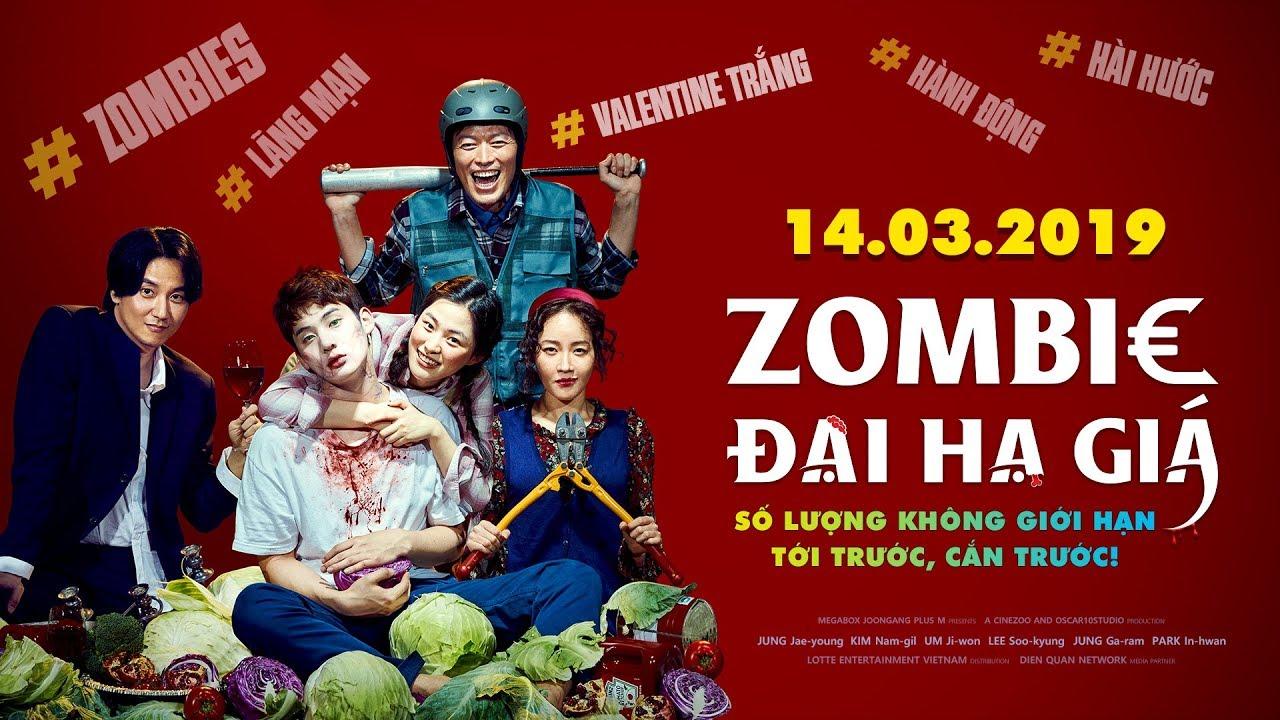 Zombie đại hạ giá - phim giải trí vui vẻ