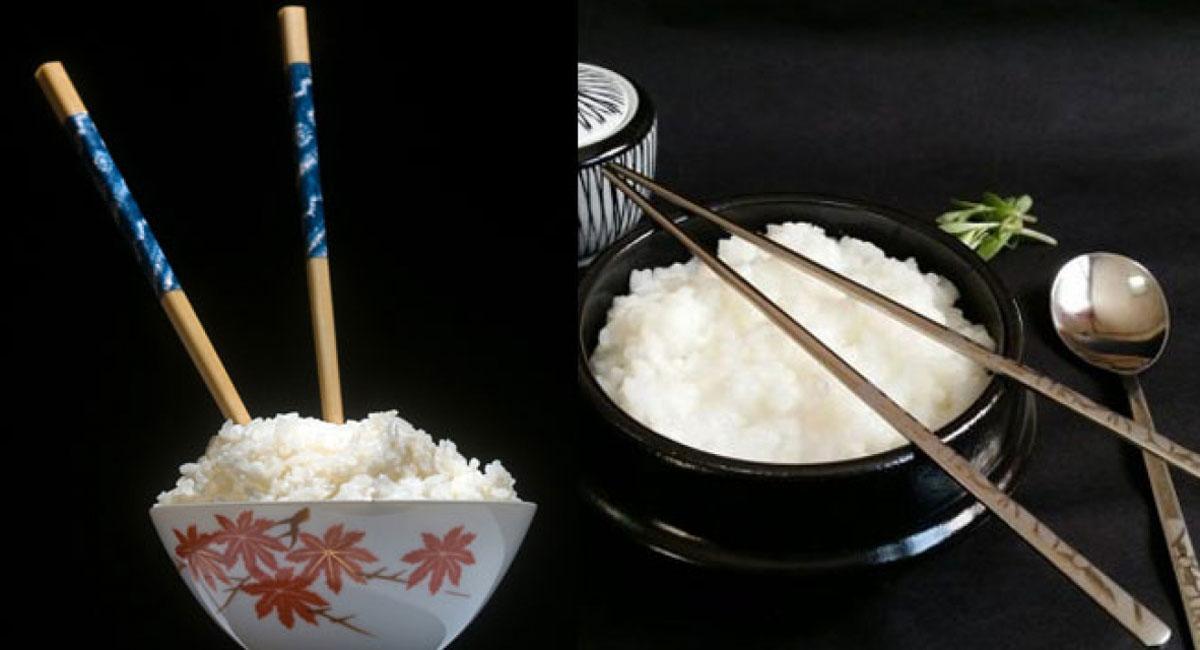 khi đôi hoặc chiếc đũa cắm vào bát cơm trông giống với việc đang thực hiện nghi thức tang lễ, như kiểu cơm cúng cho người chết, mang lại điềm xui xẻo cho gia đình.
