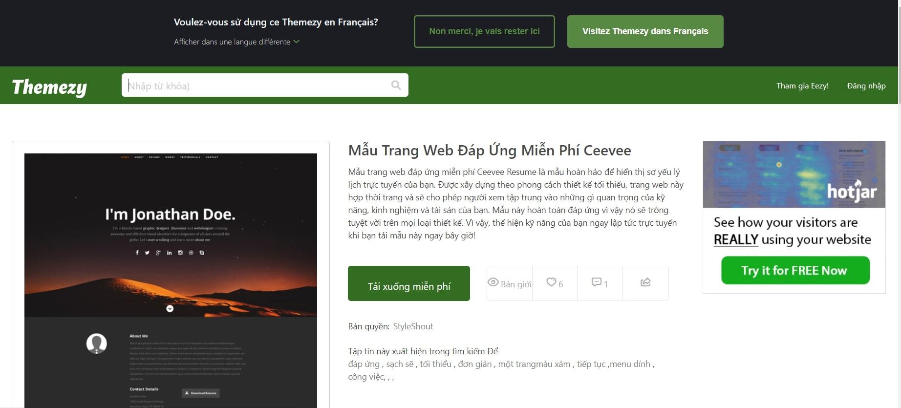 CeeVee – một trong những website tạo CV online xin việc tốt nhất hiện nay