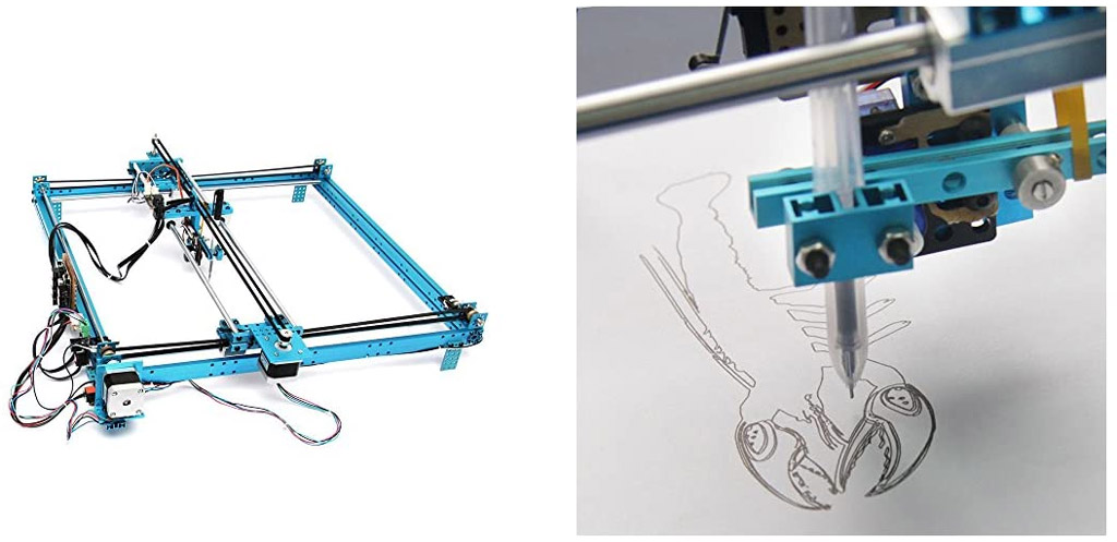 Makeblock DIY XY-Plotter Version 2.0 Drawing Robot Kit with Electronics for Ardunio Fan