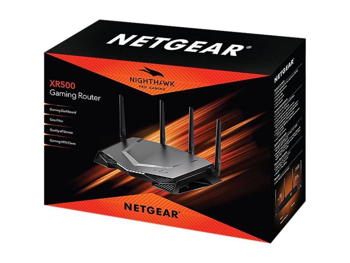 Netgear Nighthawk Pro Gaming XR500 - bộ định tuyến chơi game tuyệt vời