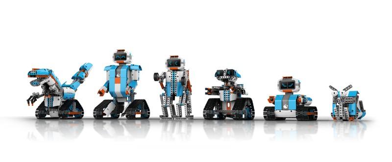 Robot Stem - Dòng Robot giáo dục AI Module 1 có thể lắp ráp thành hơn 63 hình dạng