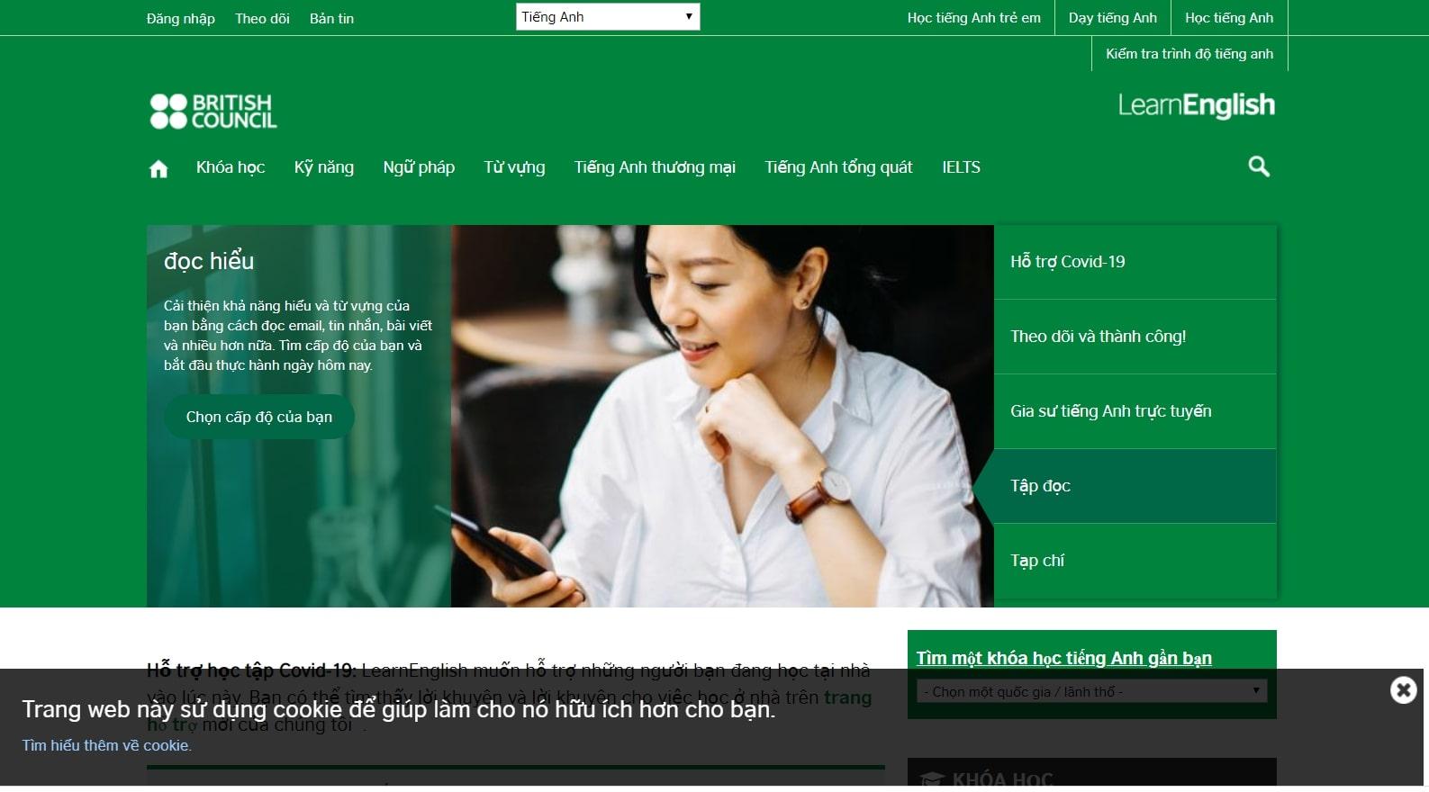 BBC Learning English hỗ trợ học tiếng anh hiệu quả