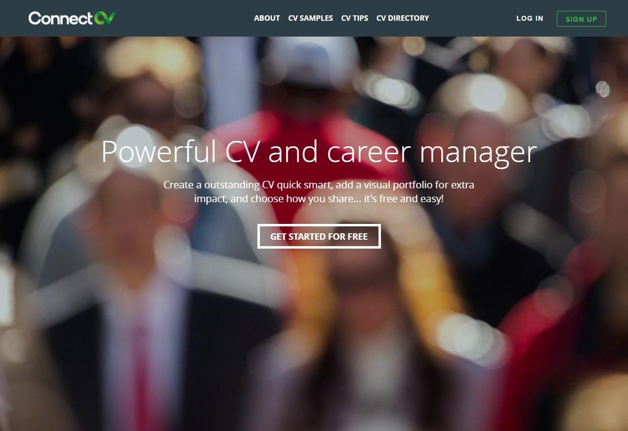 ConnectCV - website tạo CV online dễ dàng cho bạn