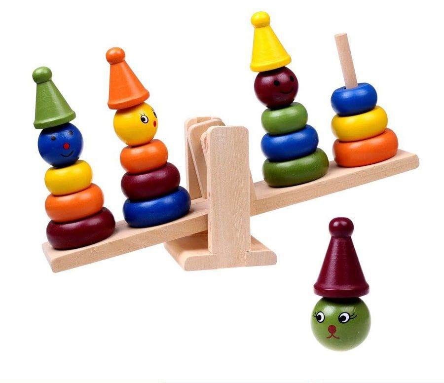 Bộ đồ chơi 4 chú hề thăng bằng
