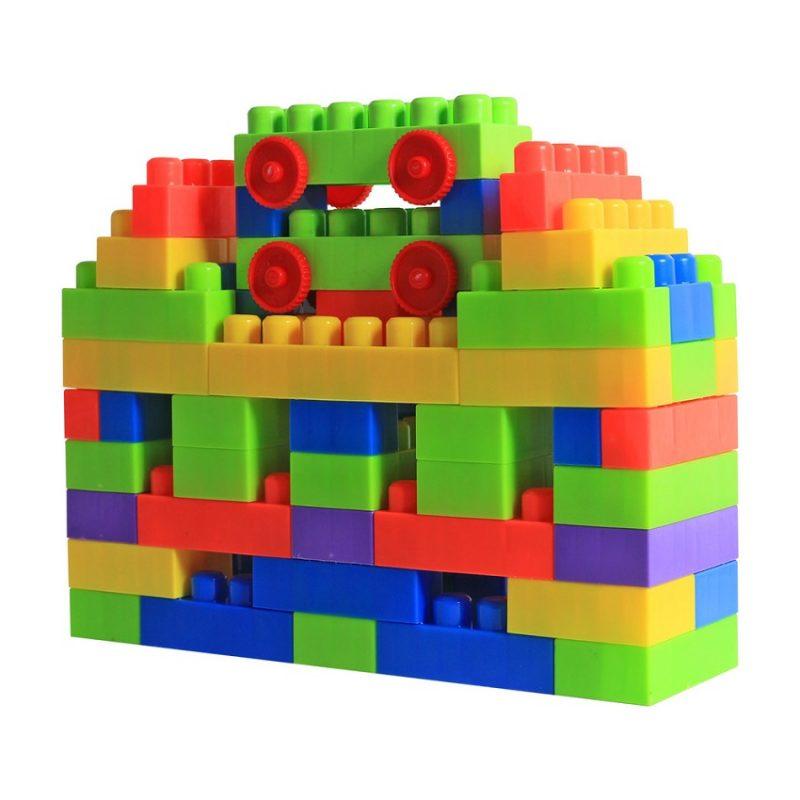 Bộ đồ chơi lắp ráp mô hình mầm non.
