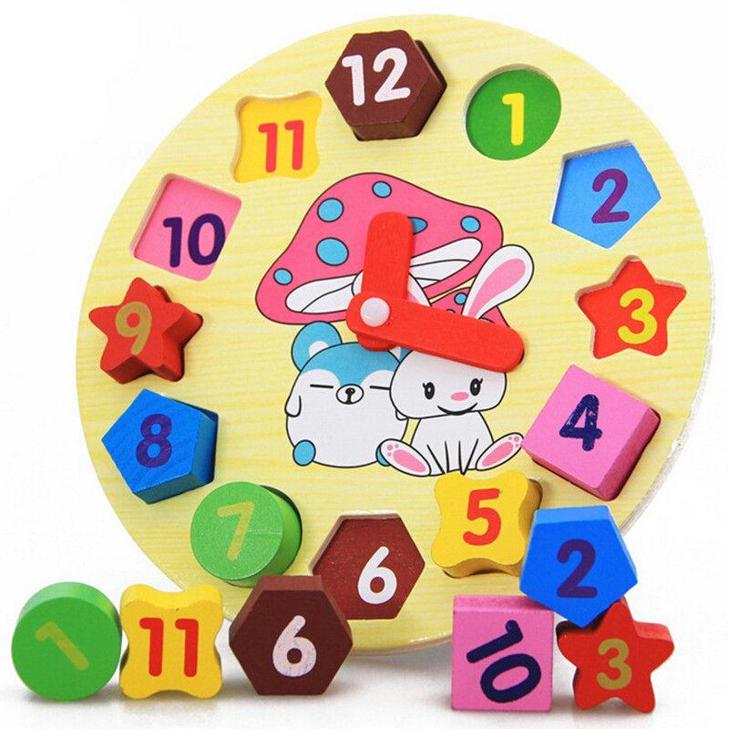 Bộ đồ chơi đồng hồ số giúp trẻ làm quen với các con số