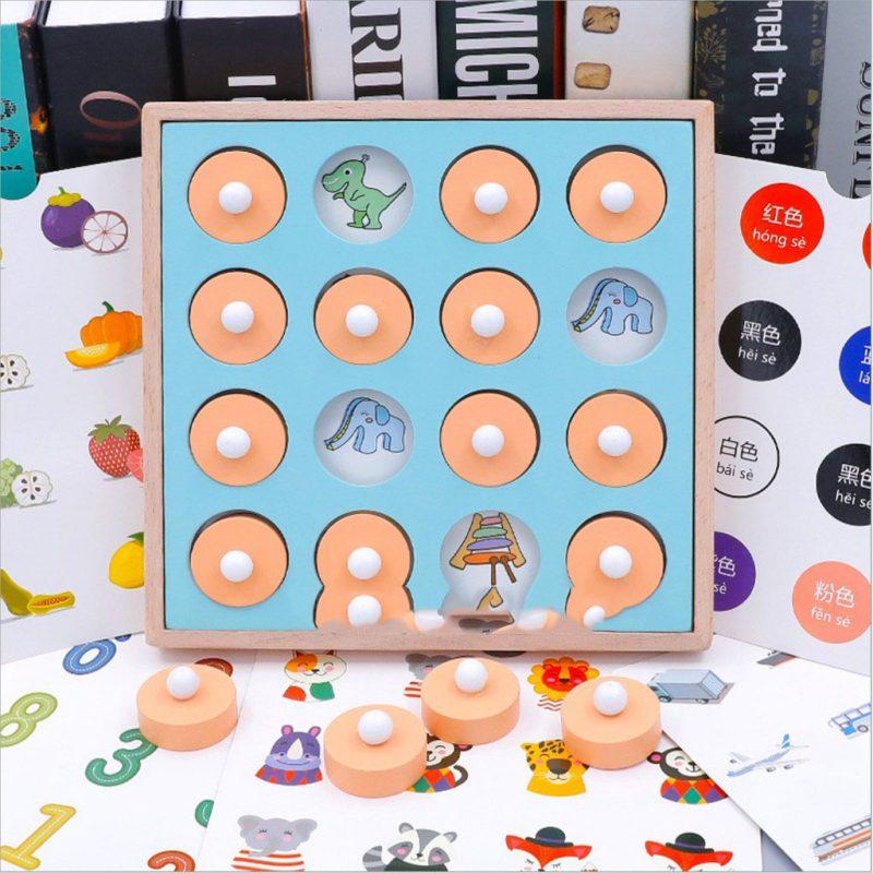 Đồ chơi luyện trí nhớ tìm hình giống nhau tăng cường thông minh, logic