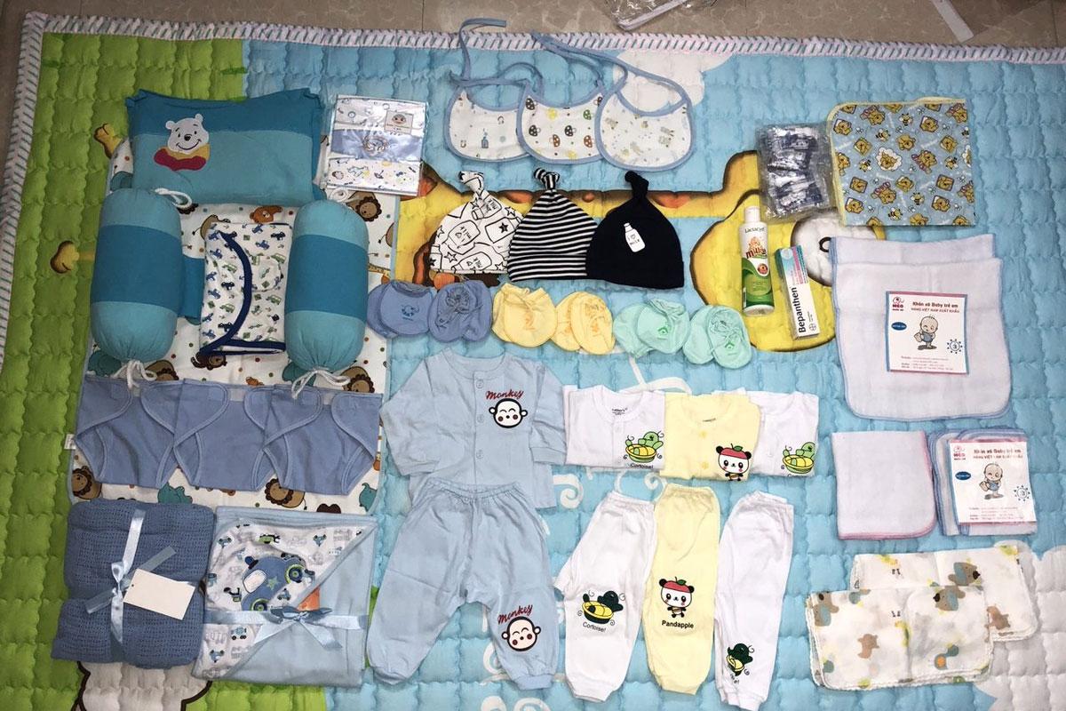 đồ dùng cho bé sơ sinh