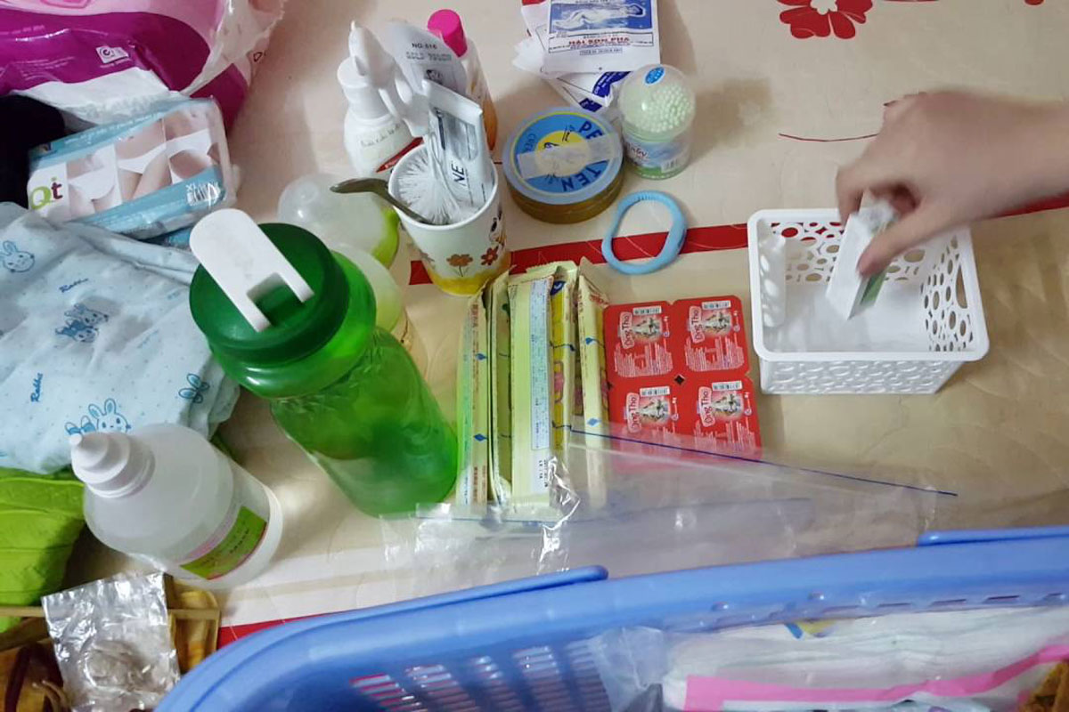 Lúc nào việc vệ sinh cá nhân cũng là vấn đề khiến nhiều mẹ bầu bị stress khi phải nằm viện sau sinh nhiều ngày