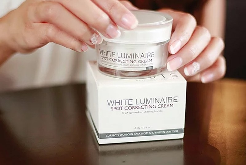 Kem dưỡng ẩm trắng da NoTS White Luminaire Spot Correcting Cream 30g