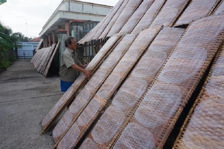 Làng nghề Bánh tráng Nhơn Hòa