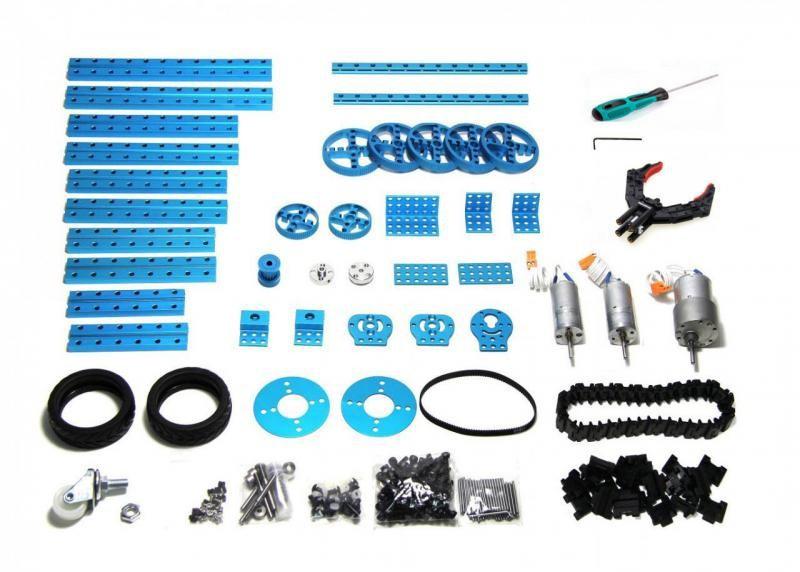 mBot high lever gồm 160 bộ phận và mô-đun cơ khí