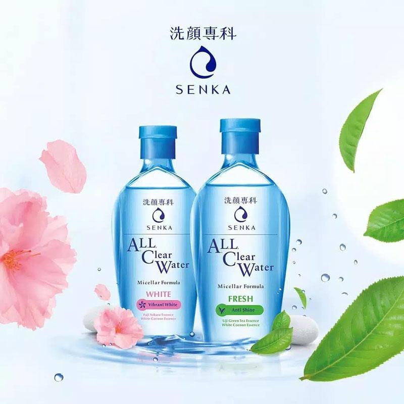 Senka là nước tẩy trang đến từ thương hiệu Senka của tập đoàn Shiseido nổi tiếng của Nhật Bản
