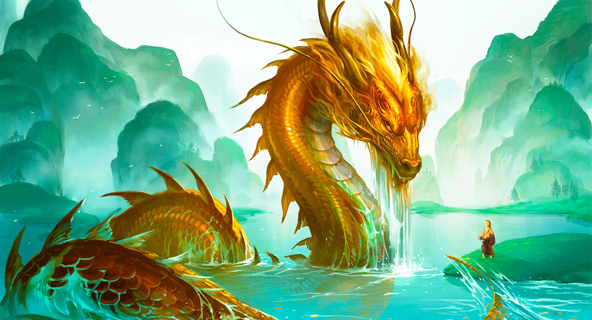 Tại Trung Quốc, Rồng được xem là một trong những linh thú đứng đầu của bộ tứ linh trong truyền thuyết.