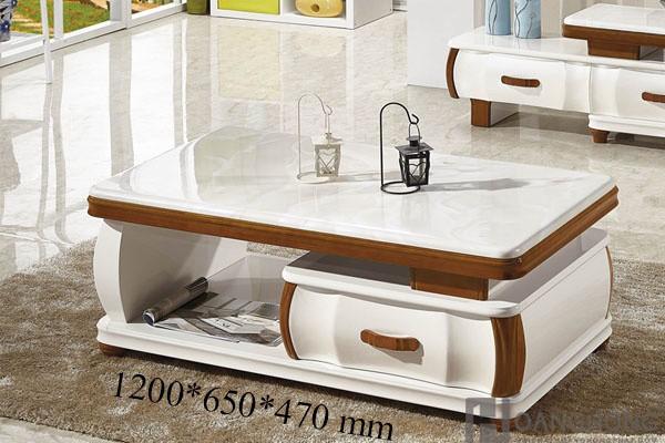 Bàn sofa mặt đá nhập khẩu HHP-BSF200-12 Cao Cấp