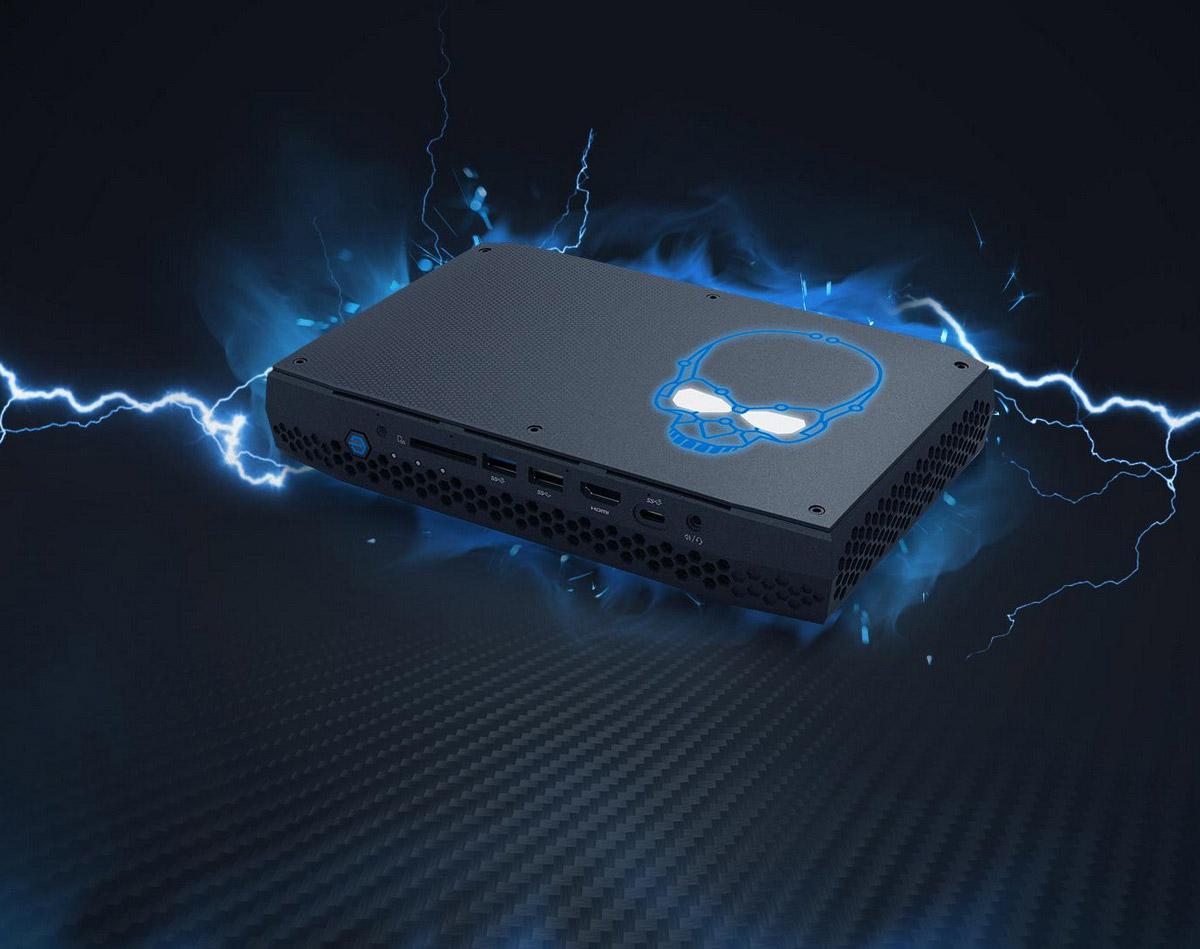 PC chơi game giá rẻ Intel Hades Canyon NUC