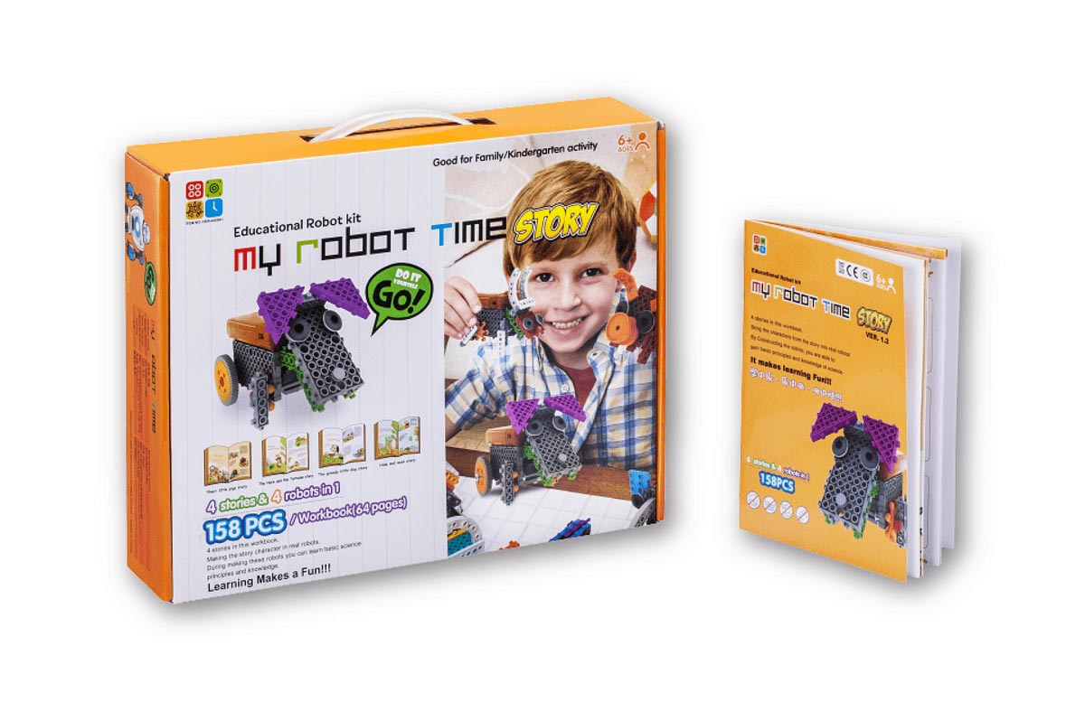 Bộ lego My Robot Time Story