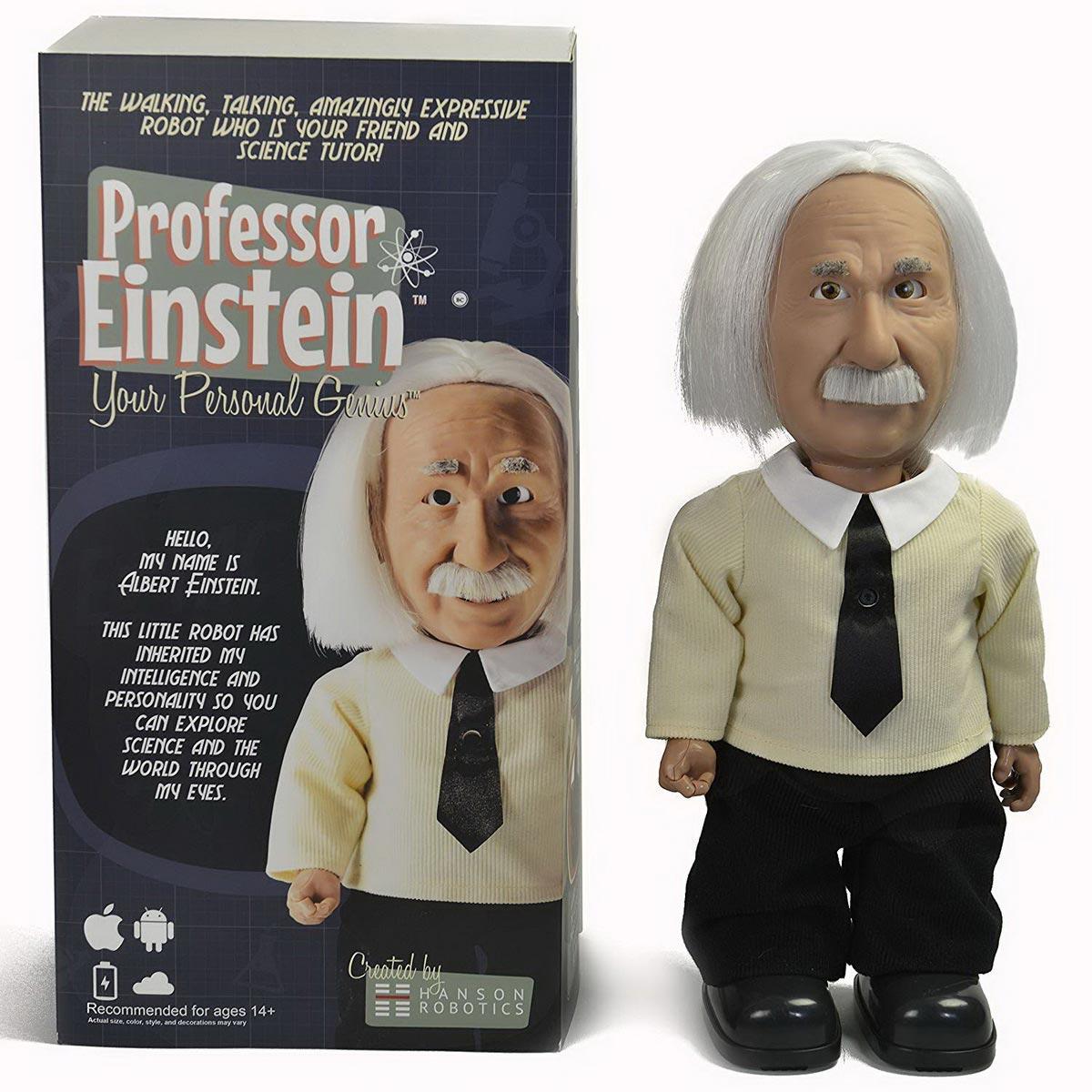 Robot giáo sư Einstein