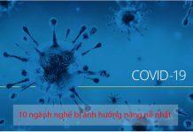 ngành nghề bị ảnh hưởng bởi đại dịch covid 19