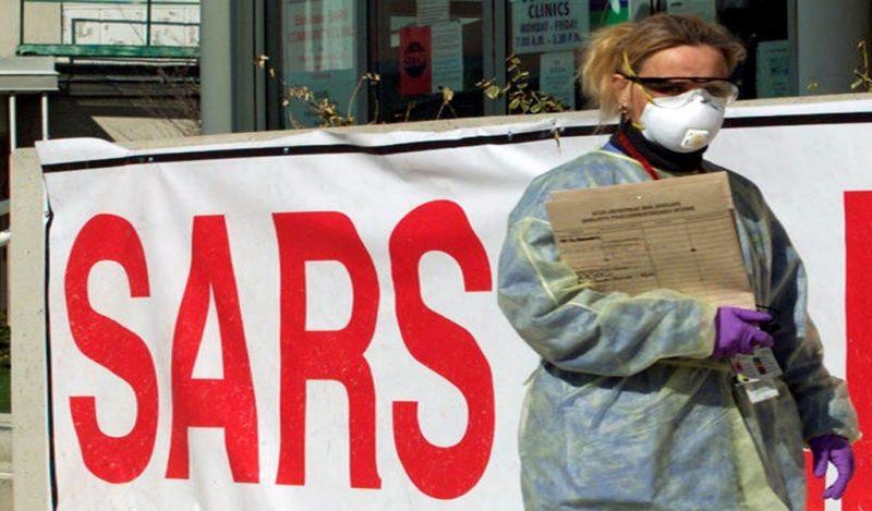SARS 2002 khiến nhiều người tử vong