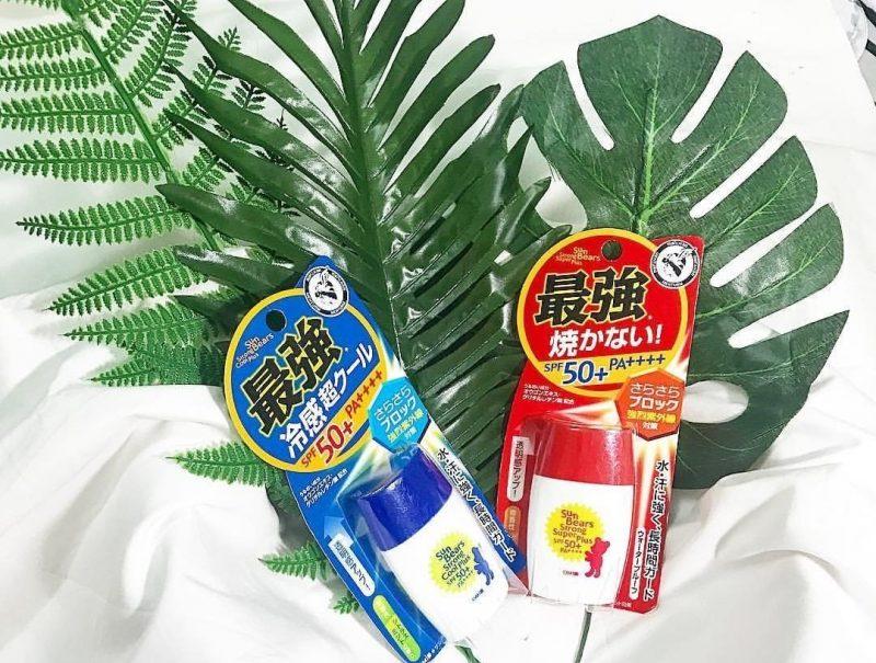 Omi - kem chống nắng của Nhật an toàn với trẻ em