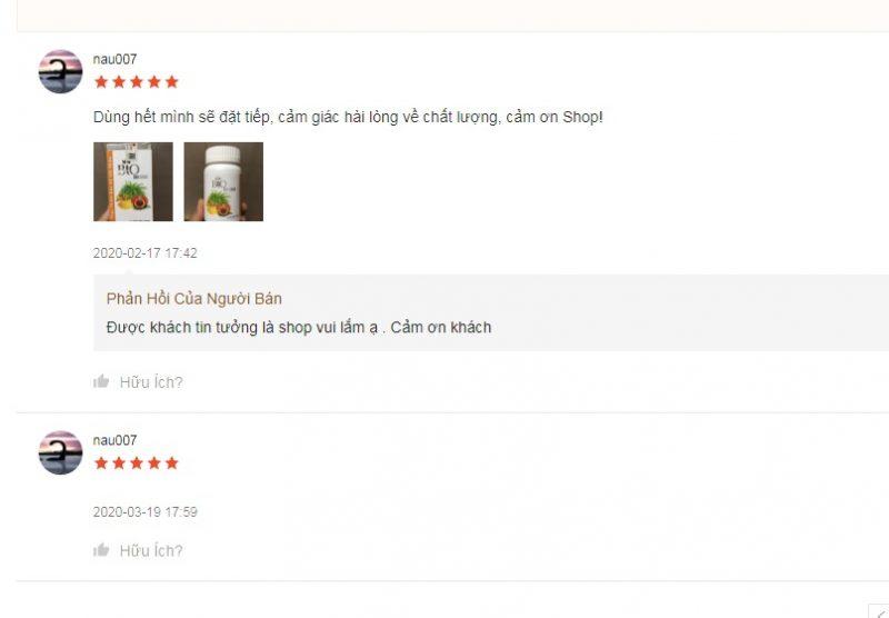 Review viên uống chống nắng Bio Suncare từ khách hàng trên Shopee