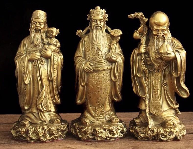 Tượng 3 ông Phúc – Lộc – Thọ phong thủy